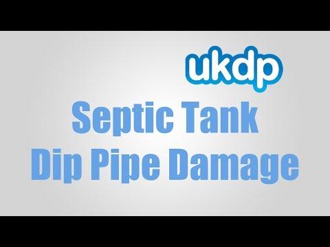 UKDP Septic Tank Dip Pipe Damage