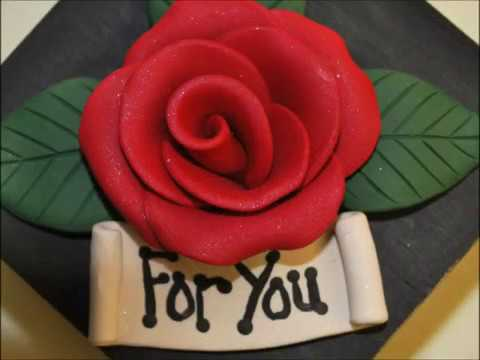 Gift Box with Polymer Clay RoseTutorial