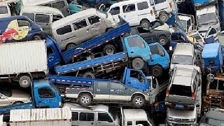Largest Car graveyards in the World