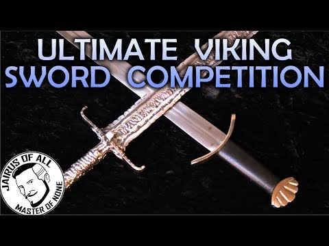 VIKING SWORD SHOWDOWN - Swanky Janky and oh so Danky Shanky VS Amazon Special