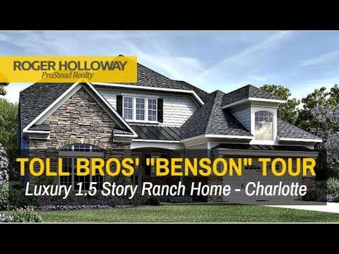Luxury Ranch Homes in Charlotte NC - Toll Brothers' BENSON