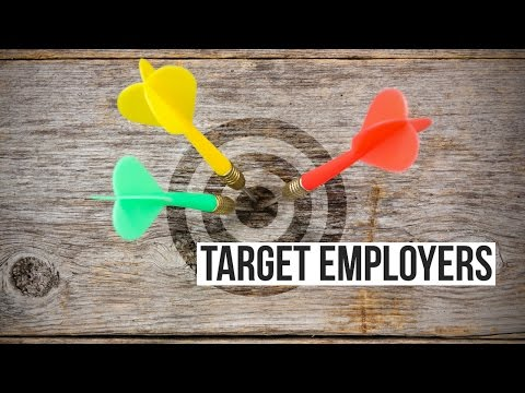 Target Employers for an Effective Job Search