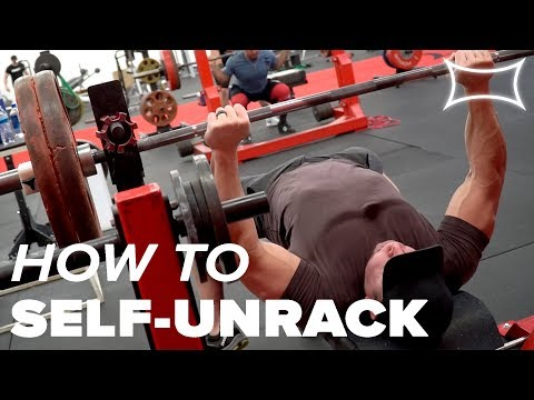 No Lift-Off? No Problem! How to Self-Unrack the Bar for Bench
