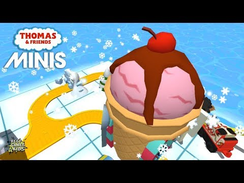 The ICE CREAM STAND Unlock! | Thomas & Friends Minis #223 By Budge Studios