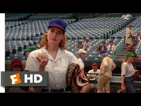 Dottie Catches a Fast Ball - A League of Their Own (2/8) Movie CLIP (1992) HD
