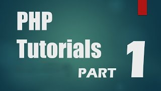 PHP Tutorial part 1 by Abdul Wali 2016