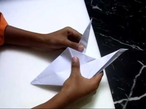 Origami - Flying crane (bird)