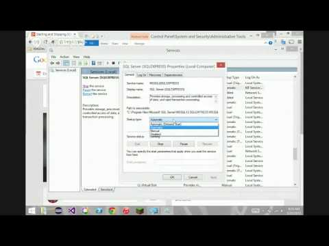 Starting and Stopping SQL Server Express 2014 as a Service (Redux)