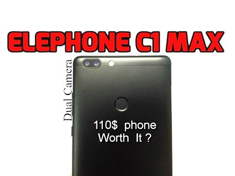 Elephone C1 Max Unboxing & Review (INDIA)