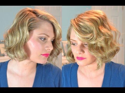 Old Hollywood Finger Waves (Short Hair)
