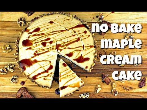 No Bake Maple Cream Cake || Gretchen's Bakery