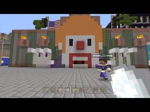 Minecraft Xbox - Fantastic Theme Park - SPANKLECHANK's World Tour - Part 9