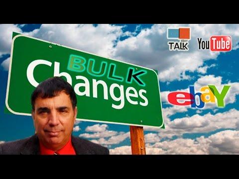 eBay Talk - How to Bulk Edit eBay Listings in Seller Hub