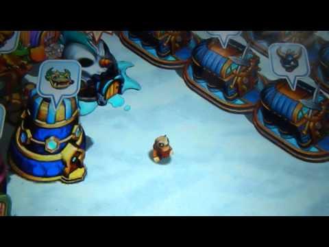 Skylanders Lost Islands Glitch - Mabu citizen moonwalking
