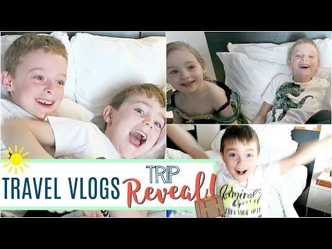 Travel Vlog   SURPRISE! Florida & Disney Vacation Reveal 2018
