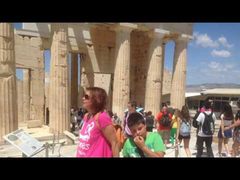 Walk in Parthenon and exploration in Acropolis museum hfhhfhfhfjgh
