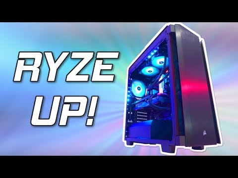The ULTIMATE Ryzen Gaming PC Build 2018! 😍