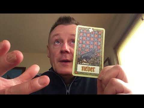 Making Your Tarot Cards Your Own!! And what what to do if you get a weird card?