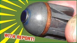A shotgun slug that acts like a HESH tank round!
