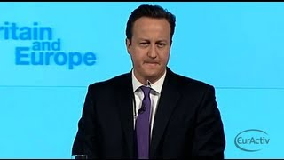 David Cameron Full Speech: Britain and Europe - January 23rd, 2013