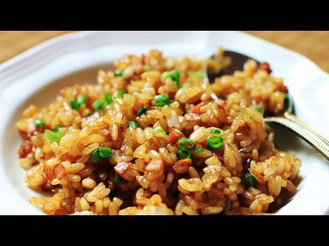 Chinese Fried Rice Recipe/ Home Made Soy Sauce Fried Rice