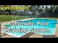 How to Cool Swimming Pool - DIY Pool Fountain