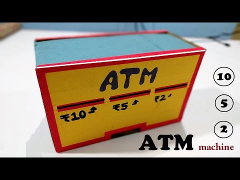 How to make ATM Machine Diy for Kids | paper crafts | Life hacks