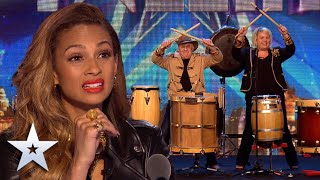 DRUMMING duo are a total BLAST I Auditions I BGT Series 9