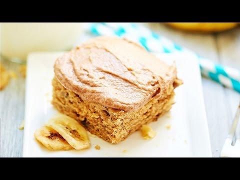 Chocolate Peanut Butter Banana Cake Recipe - Show Me the Yummy - Episode 4
