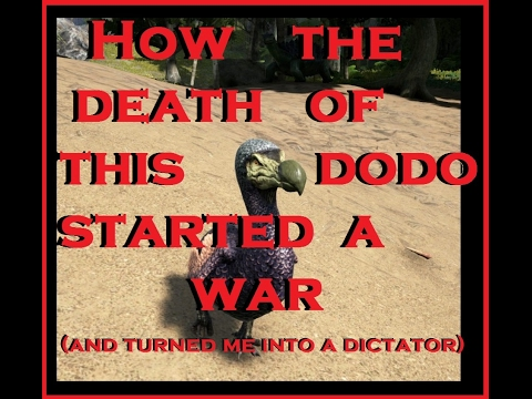ARK - How the death of a dodo started a war & turned me into a dictator