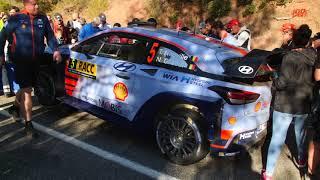 WRC Rally Catalunya 2017 Santa Marina SS16 & SS19