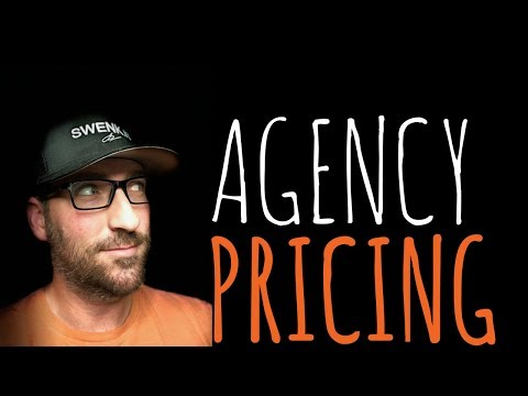 MARKETING AGENCY PRICING - CHARGING ON VALUE | Creative Agency Advice | SwenkToday #106