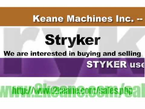 MedEquipFlip.com - We buy/sell used Stryker equipment!!