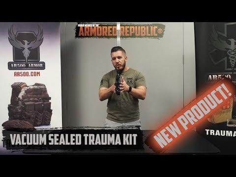 AR500 Armor® Vacuum Sealed IFAK