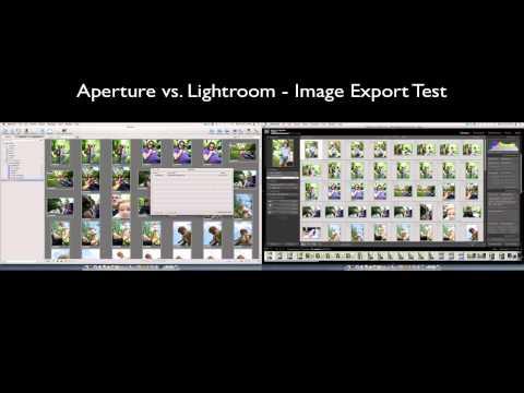 Aperture 3 vs. Lightroom 3 Export to JPEG