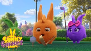 SUNNY BUNNIES - Golf Lessons for Turbo | Season 2 | Cartoons for Children