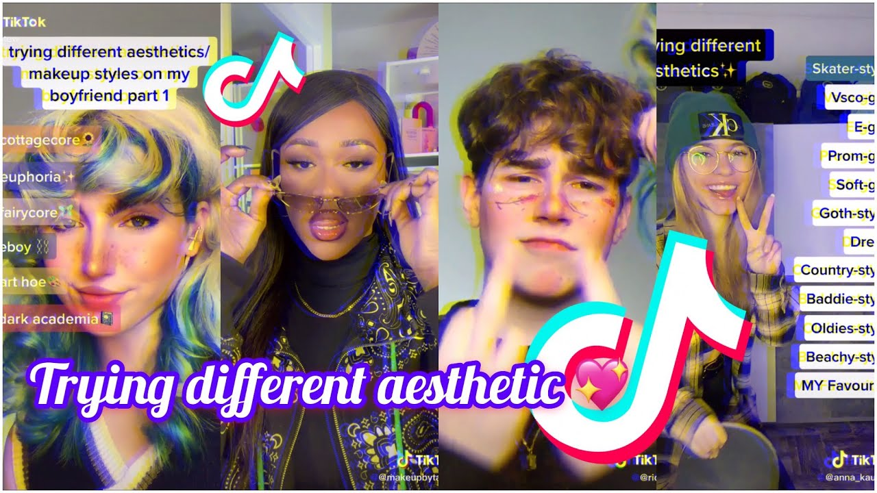 Trying different aesthetic 💖Tiktok compilation 2021🔥