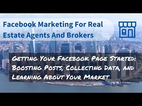 Getting Your Facebook Page Started - Boosting Posts, Collecting Data, and Learning About Your Market
