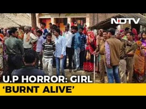 Teen Burnt To Death Outside Her Village In UP's Unnao