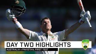 Warner punishes Pakistan as Aussie bats pile up the runs | First Domain Test