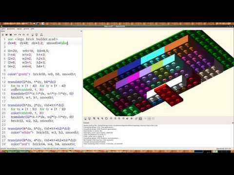 Mit OpenSCAD wird 3D Konstruktion zum Kinderspiel