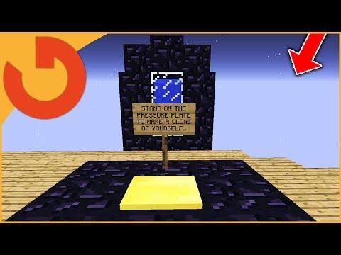 FAKE WORKING CLONE MACHINE HELPER TROLL! (Minecraft Trolling)
