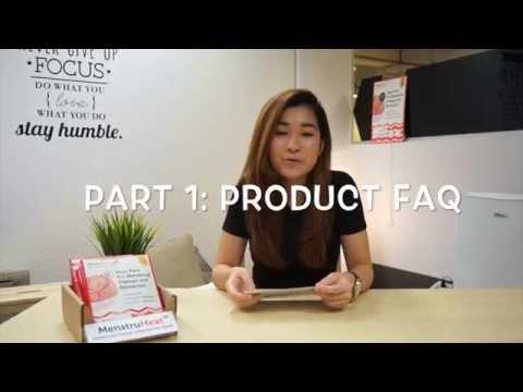 MenstruHeat Product FAQ Part 1