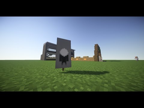 How To Make A Slenderman Banner in Minecraft!