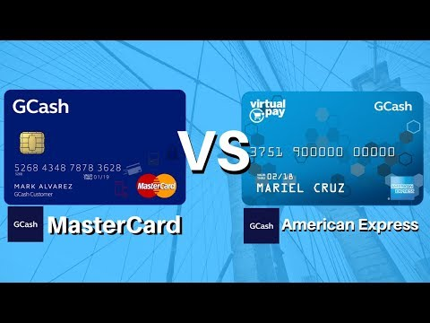 Gcash Tutorial #2: (2018) Gcash Mastercard VS Gcash American Express Virtual Card, how it works?