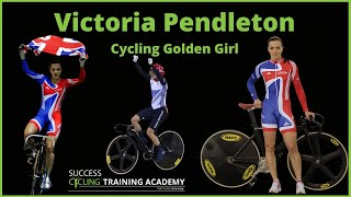 Victoria Pendleton Cycling Golden Girl