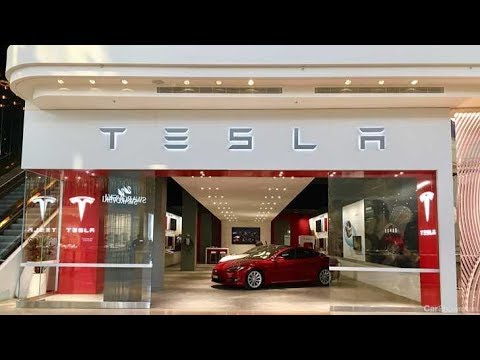 Tour Inside Tesla Showroom In Melbourne Chadstone Mall