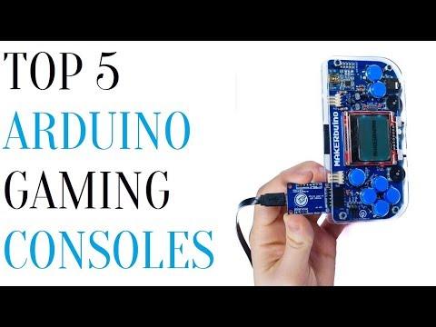 Top 5 Arduino Gaming Consoles