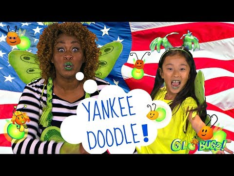 Yankee Doodle Dandy | Kids Songs & Videos | GloZell and the GloBugz