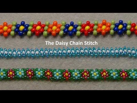 Beaded Daisy Chain Stitch Tutorial